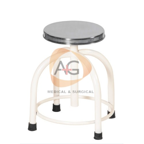 Revolving Stool Metal Steel